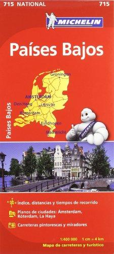 Mapa National Países Bajos (Mapas National Michelin)